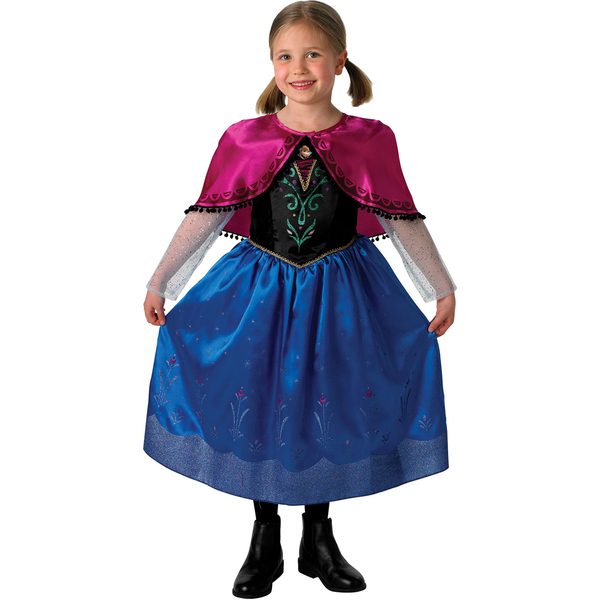 Disney Frozen Anna Deluxe Dressing Up Costume