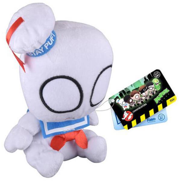 Mopeez Ghostbusters Stay Puft Marshmallow Man Plush Figure