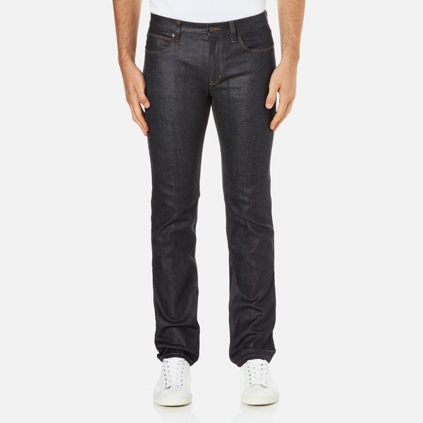 HUGO Men's Hugo 708 Straight Leg Jeans - Raw Wash