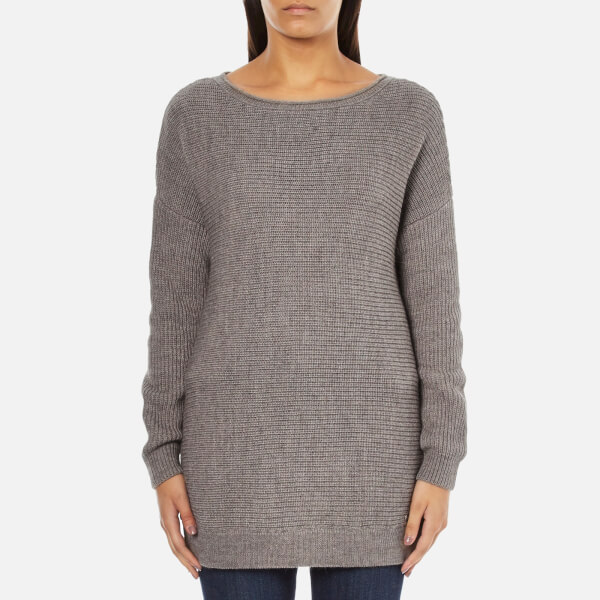 Barbour International Women's Tappet Knitted Jumper - Taupe