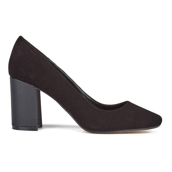 Dune Women's Acapela Suede Court Shoes - Black