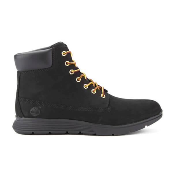 Timberland Men's Killington 6 Inch Boots - Black Nubuck