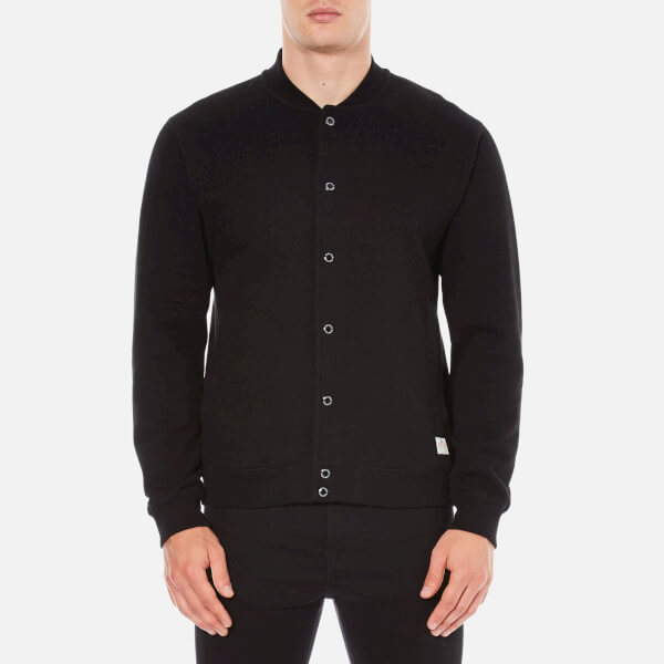 Penfield Men's Massac Bomber Sweatshirt - Black