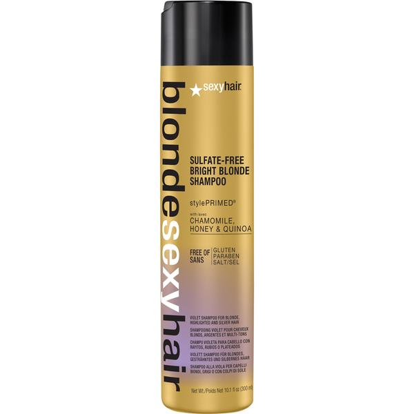 Sexy Hair Blonde Bright Blonde Violet Shampoo 300ml