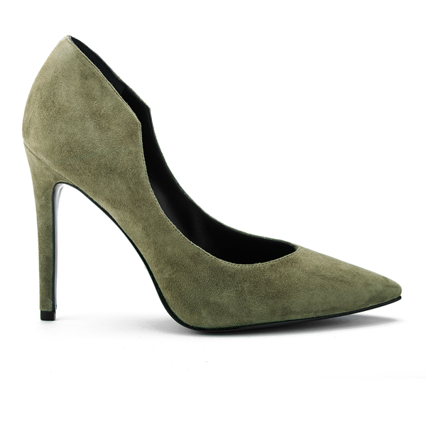 Kendall + Kylie Women's Abi Suede Court Shoes - Olive