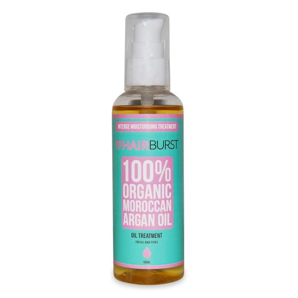 Hairburst 100% Organic Moroccan Argan Oil - 100ml
