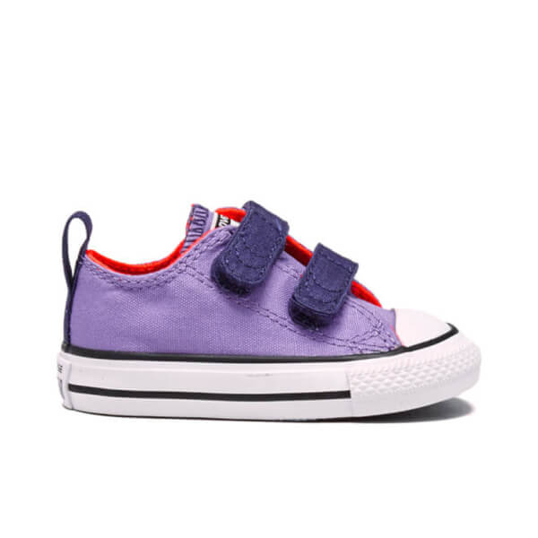 Converse Toddlers' Chuck Taylor All Star Trainers - Frozen Lilac/Eggplant/White