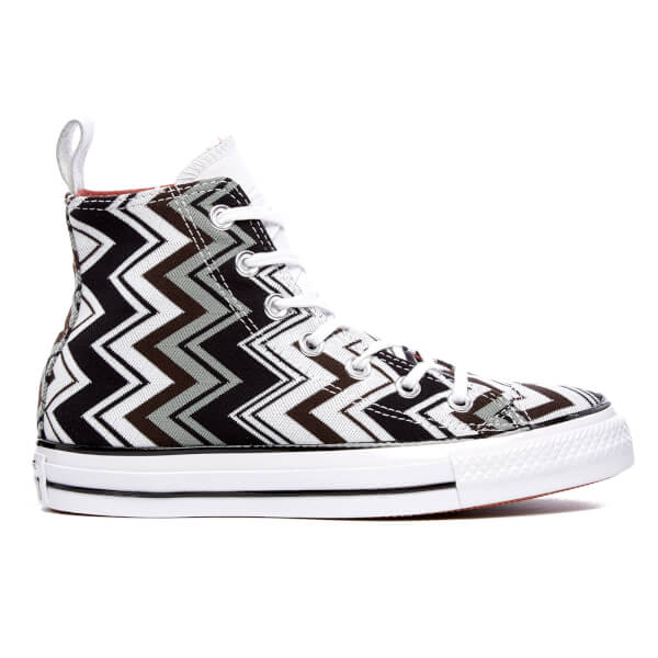 Converse X Missoni Women's Chuck Taylor All Star Hi-Top Trainers - Multi/Egret/Black