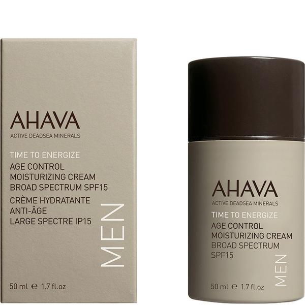 AHAVA Men's Age Control Moisturizing Cream Broad Spectrum SPF 15