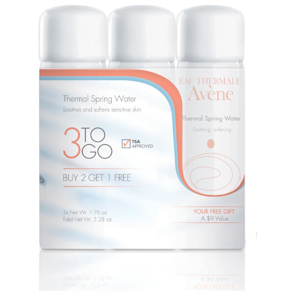 Avene Thermal Spring Water 3-to-Go Kit