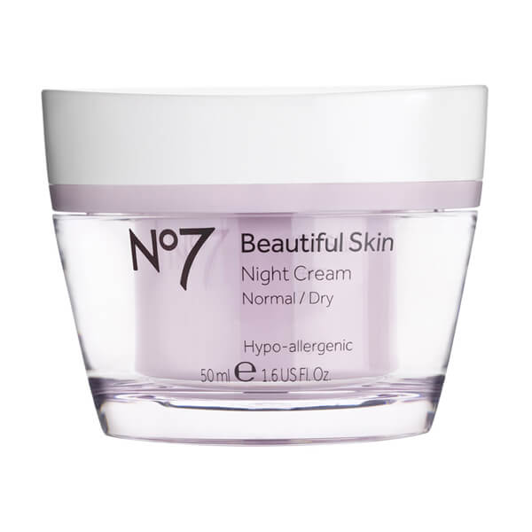 Boots No.7 Beautiful Skin Night Cream - Normal to Dry