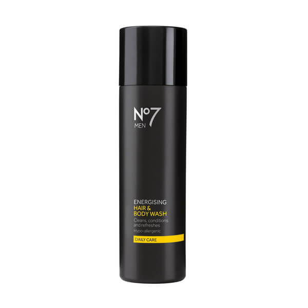 Boots No.7 Men Energising Hair and Body Wash