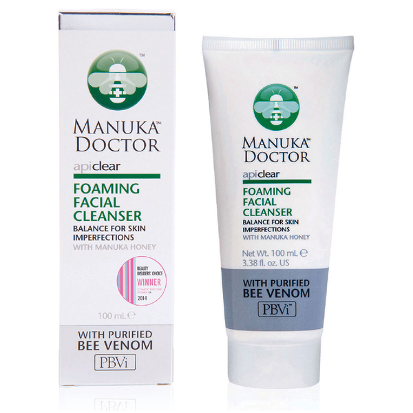Foaming Facial Cleanser ApiClear Manuka Doctor 100 ml