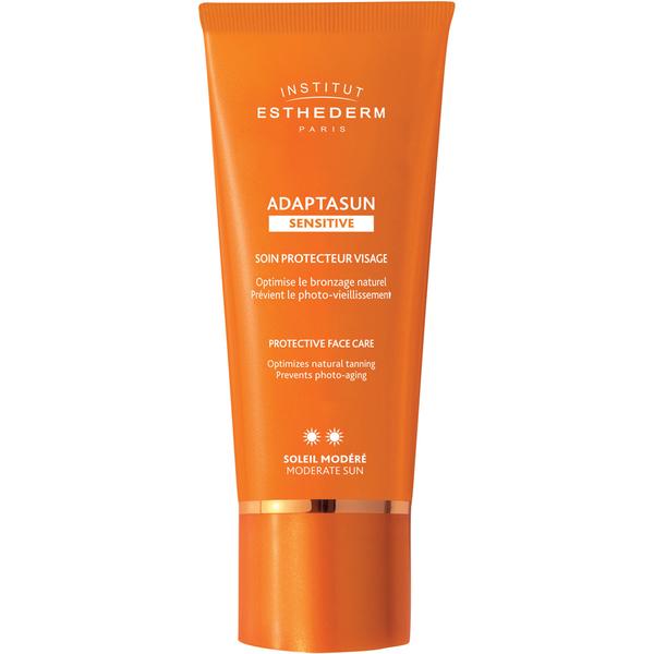 Institut Esthederm Adaptasun Sensitive Skin Face Cream Moderate Sun 50ml