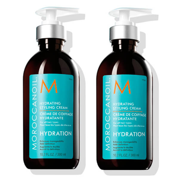 2x Moroccanoil Hydrating Styling Cream
