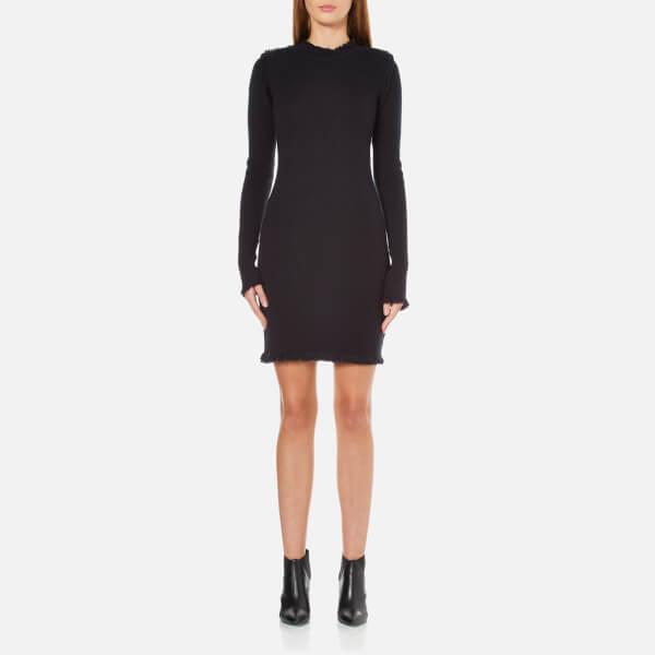MICHAEL MICHAEL KORS Women's Fine Fringe Dress - Navy