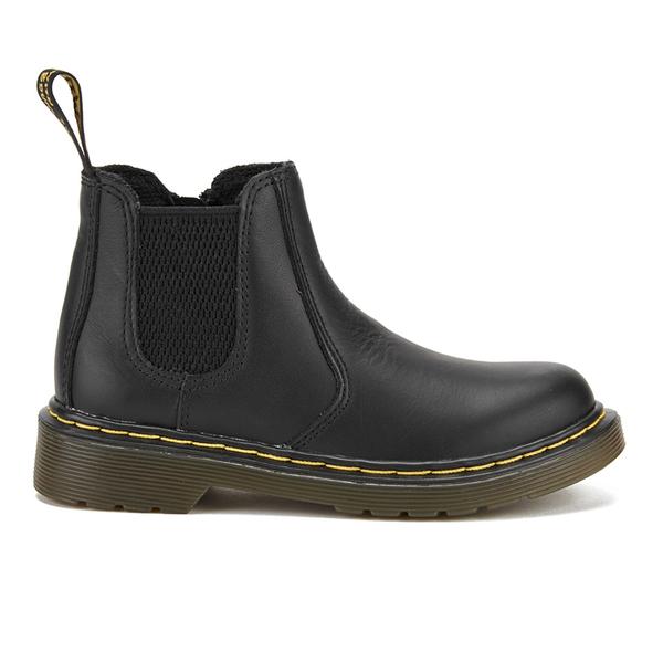 Dr. Martens Kids' Banzai Leather Chelsea Boots - Black