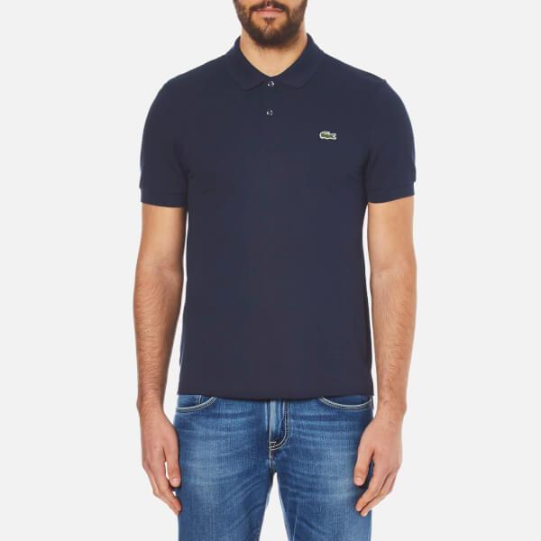 Lacoste L!ve Men's Short Sleeve Polo Shirt - Navy