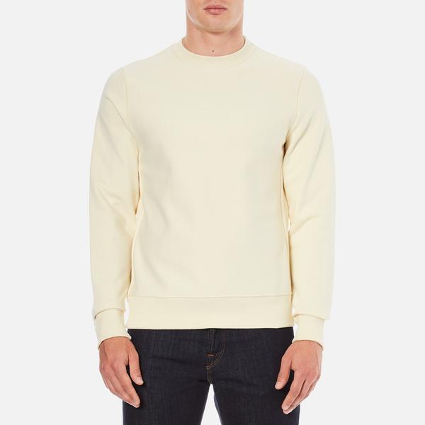 PS by Paul Smith Men's Crew Neck Sweatshirt - Ecru
