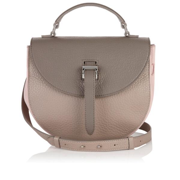meli melo Women's Ortensia Cross Body Bag - Taupe/Dusty Pink