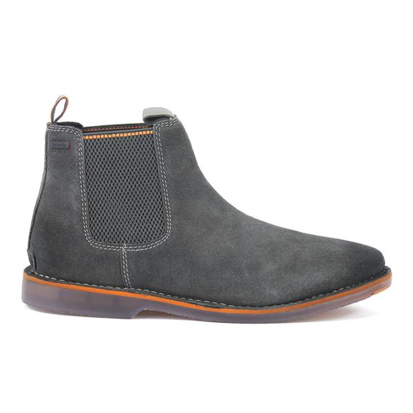 superdry men 39 s dakar chelsea boots dark charcoal mens footwear. Black Bedroom Furniture Sets. Home Design Ideas