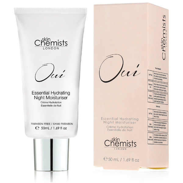 skinChemists Oui Essential Hydrating Night Moisturiser 50 ml