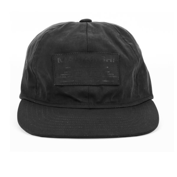 Maharishi Men's Miltype 6 Panel Cap - Black