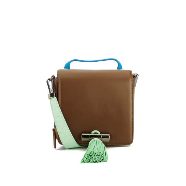 KENZO Women's Runway Small Top Handle Bag - Brown