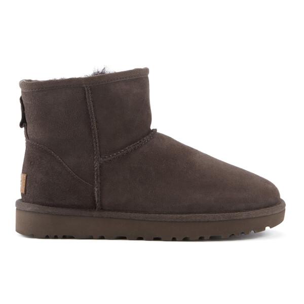 UGG Women's Classic Mini II Sheepskin Boots - Chocolate