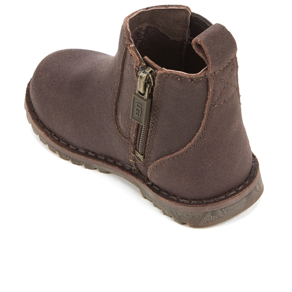 ugg toddlers callum suede chelsea boots chocolate