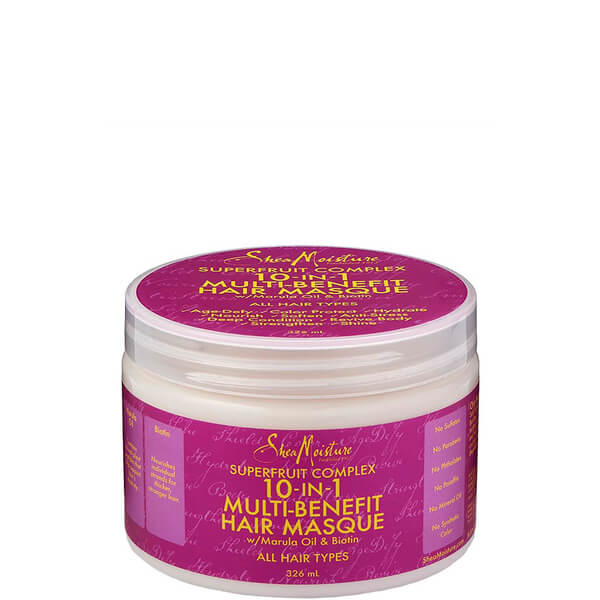 Shea Moisture Superfruit Complex 10 in 1 Renewal System Hair Masque 326 ml
