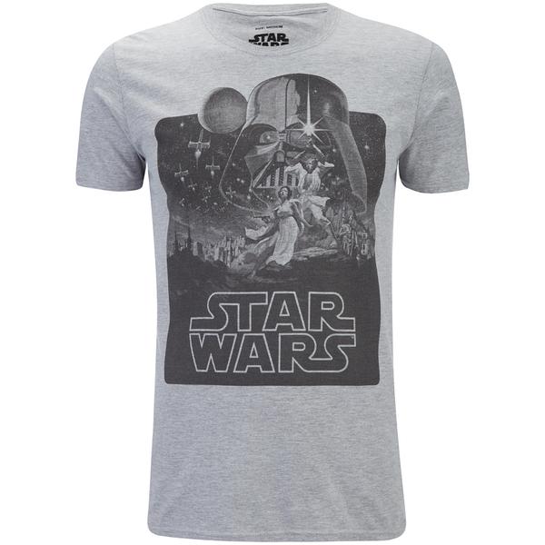 Star Wars Men's New Hope Mono T-Shirt - Sport Grey