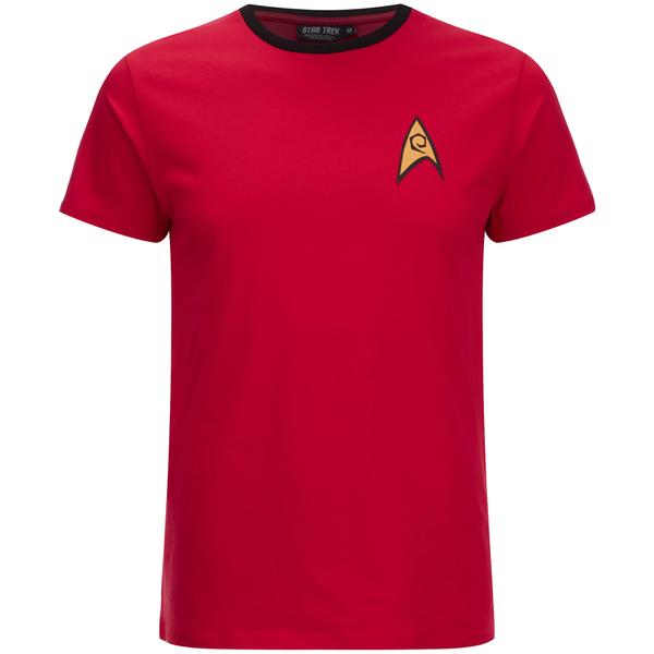 Star Trek Men's Command Uniform T-Shirt - Red