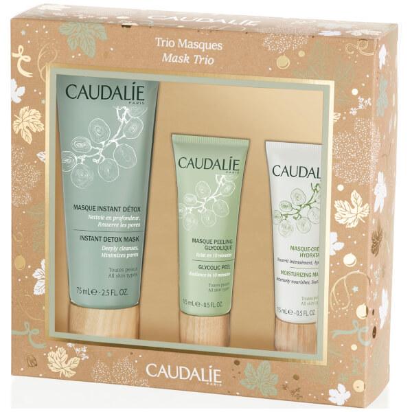 Caudalie Christmas Mask Trio (Worth £30)
