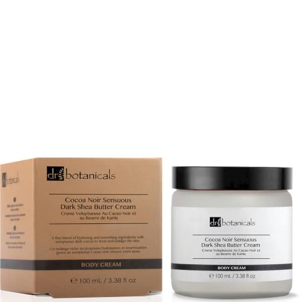 Dr Botanicals Coco Noir Sensuous Dark Shea Butter Cream 100ml