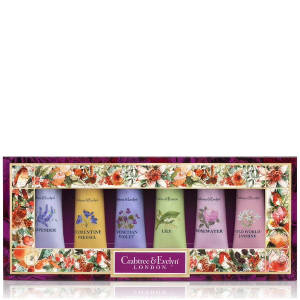 Crabtree & Evelyn Florals Hand Therapy Sampler 6x25g (Worth £36.00)