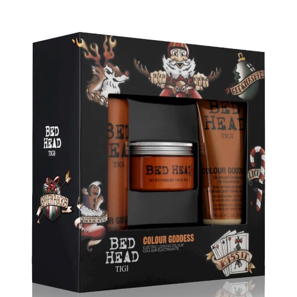 TIGI Bed Head Colour Goddess Shampoo, Conditioner & Mask Gift Set