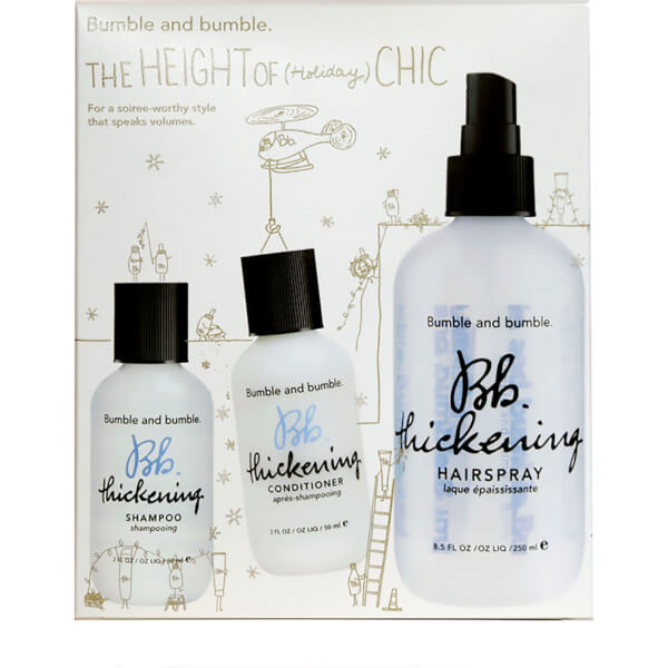 Bumble and bumble The Height of (Holiday) Chic Gift Set (Worth £36.00)