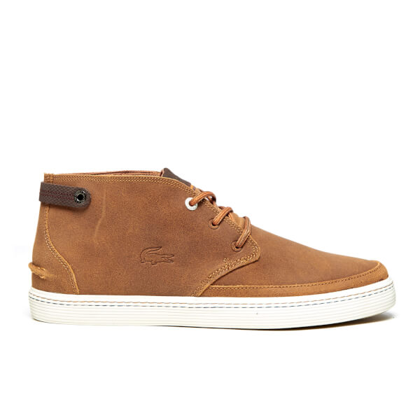Lacoste Men's Clavel 18 Ap SRM Chukka Boots - Brown