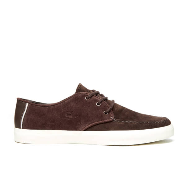 Lacoste Men's Sevrin 116 1 Cam Boat Shoes - Dark Brown