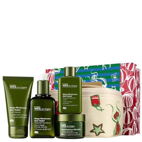 Origins Dr. Andrew Weil for Origins Mega-Mushroom Skin Relief Set (Worth £110)