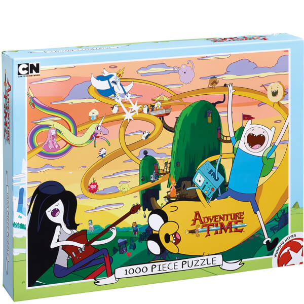 Adventure Time Puzzle (1000 Pieces)