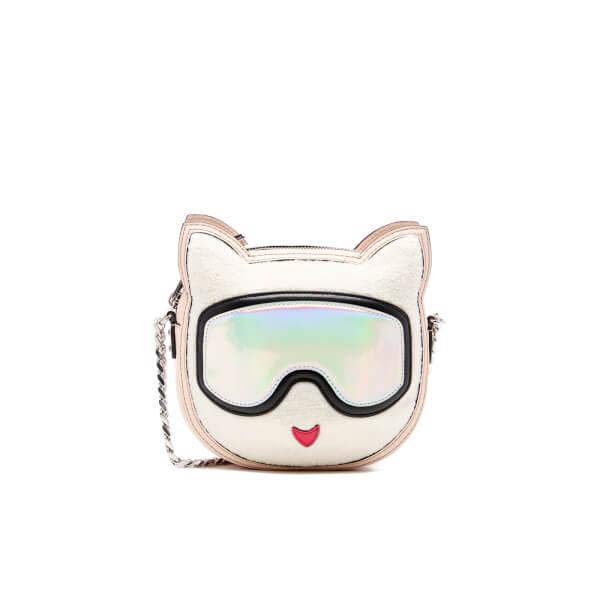 Karl Lagerfeld Women's Choupette Cross Body Bag - Cream