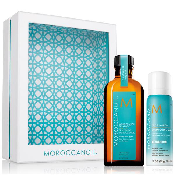 Moroccanoil Home and Away Original Set - Light