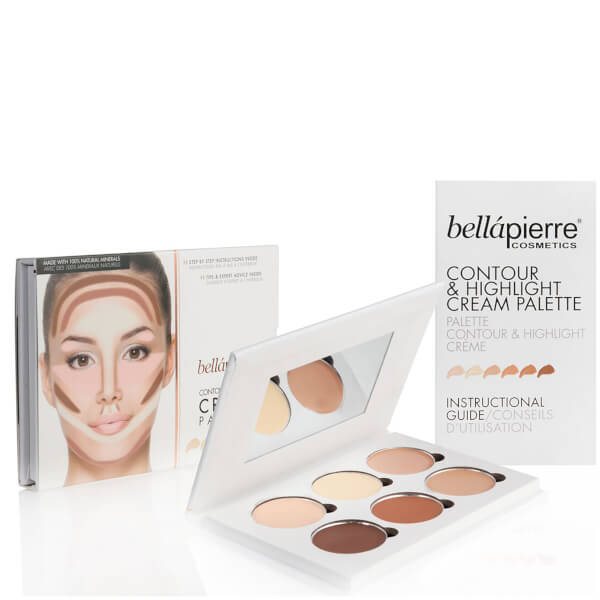 Bellápierre Cosmetics Contour & Highlight Cream Palette