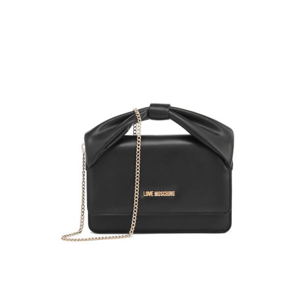 Love Moschino Women's Bow Shoulder Bag - Black