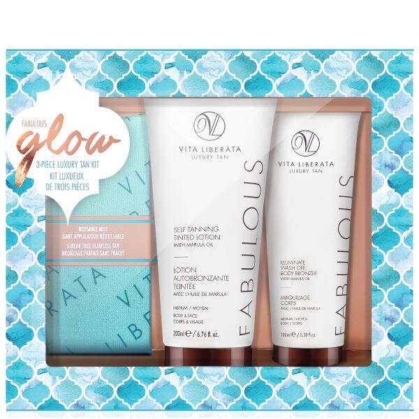 Vita Liberata Fabulous Glow Luxury Tan Box Kit - Medium Lotion