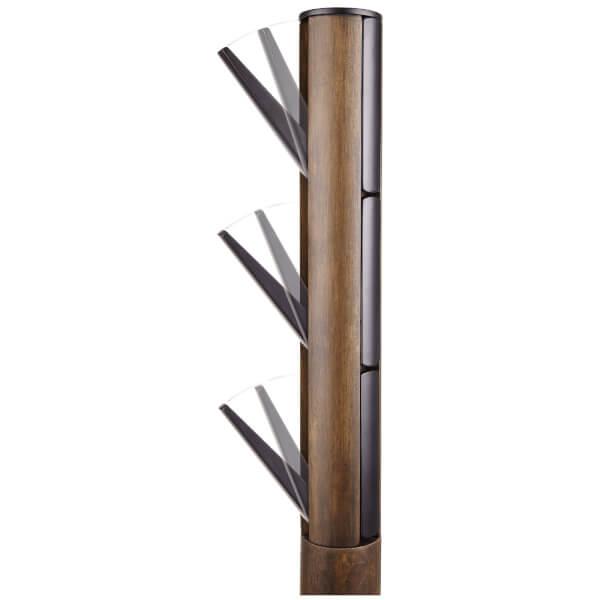 Umbra Flapper Coat Rack Walnut Homeware Thehut Com