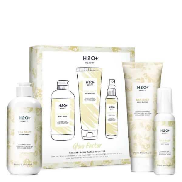 H2O+ Beauty Glow Factor Sea Salt Favorites Gift Set