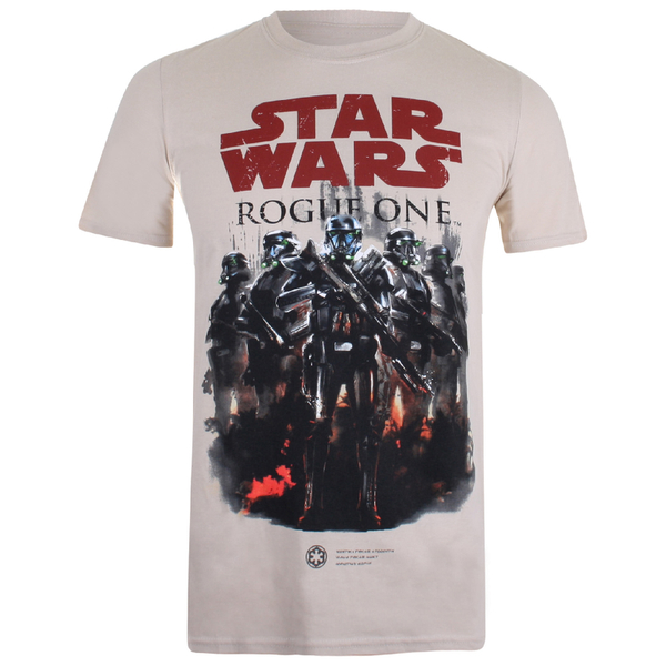 Star Wars Rogue One Men's Squad T-Shirt - Sand